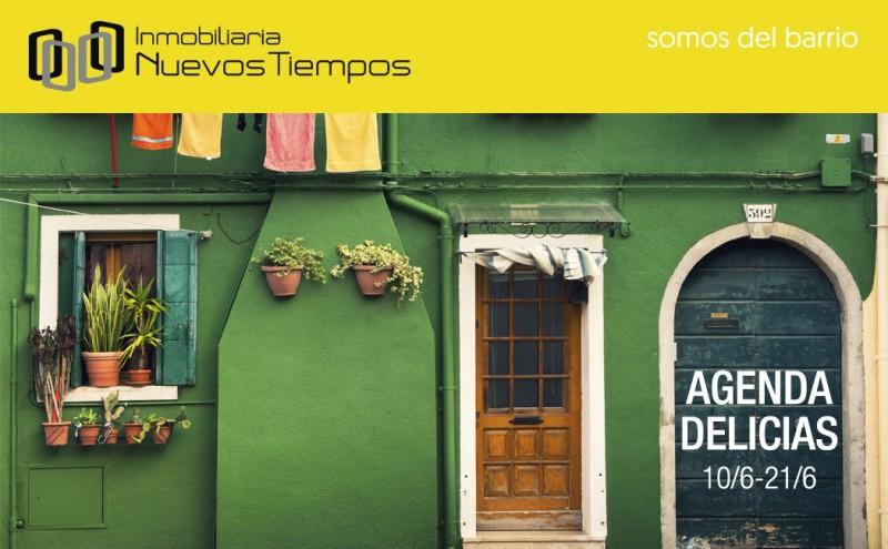 calle Delicias, agenda delicias