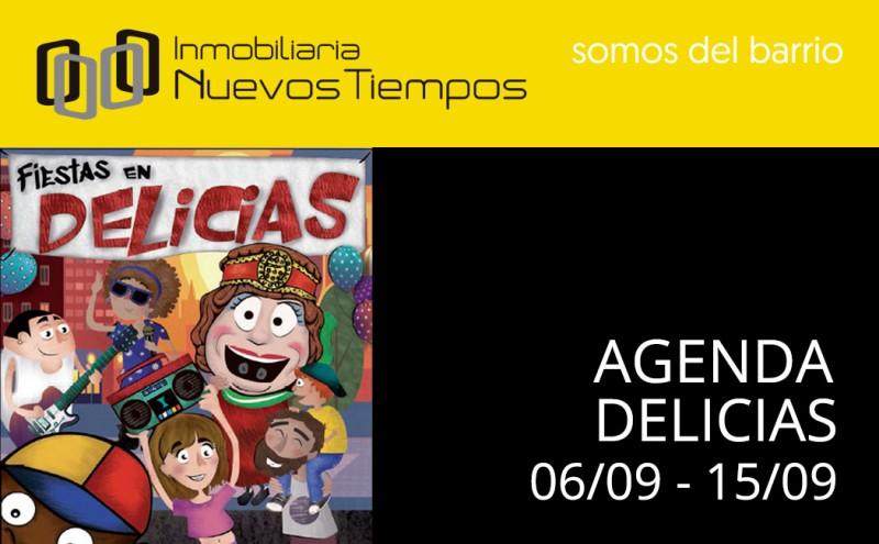 Fiestas de las Delicias, Barrio Delicias, Zaragoza