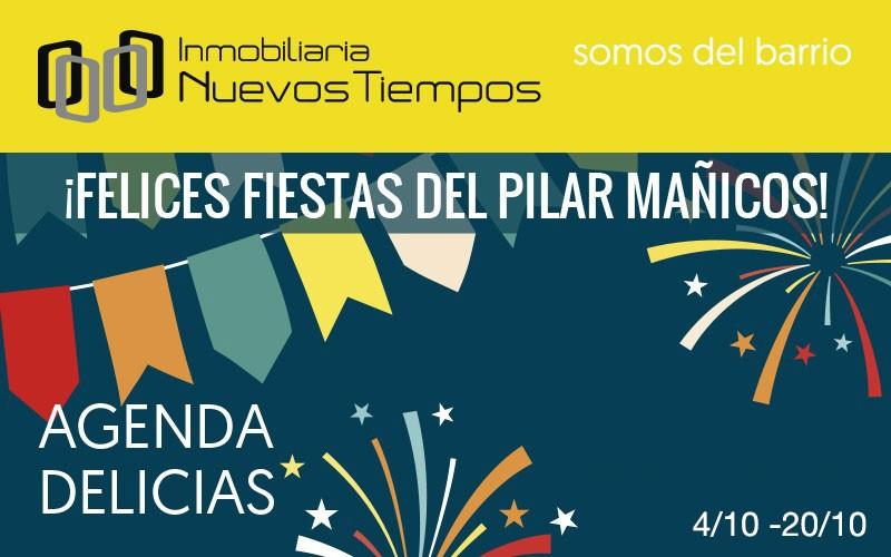 Pilares 2019, programa fiestas Pilar, inuevostiempos, agenda Delicias