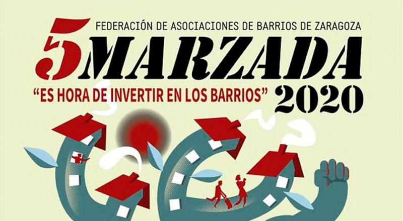 cincomarzada, Zaragoza, festivo, inuevostiempos, barrio delicias