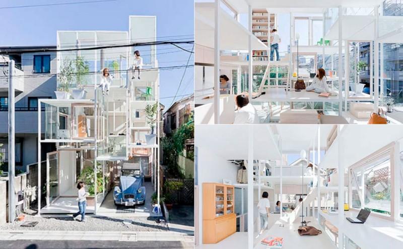 casa transparente, casas extrañas, inuevostiempos, barrio delicias, zaragoza